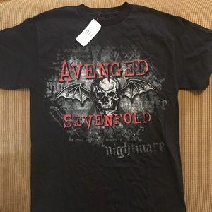 Avenged Sevenfold T-shirt size medium NWT